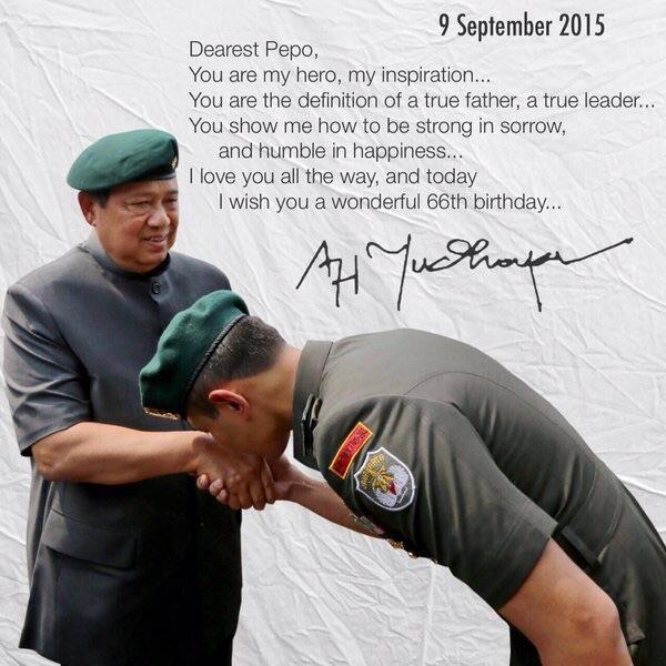 Agus Yudhoyono Bangga Miliki Ayah Sekaligus Mentor