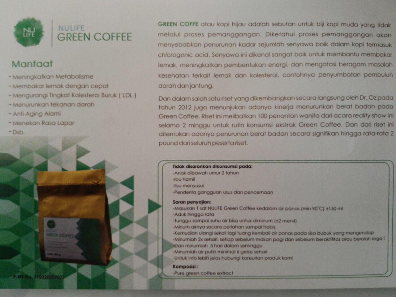 Mlm Terbaru Nulife Indonesia Modal Receh Bonus Gede Banget Lock Green Coffee Posisi Anda