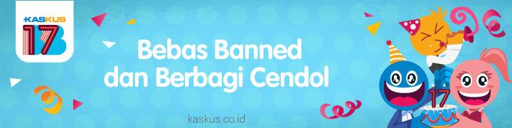 [BB17] Mau Banjir Cendol dan Bebas Banned?