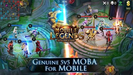 [ANDORID] MOBILE LEGEND :Bang Bang ! (eSports MOBA 5vs5 fair)