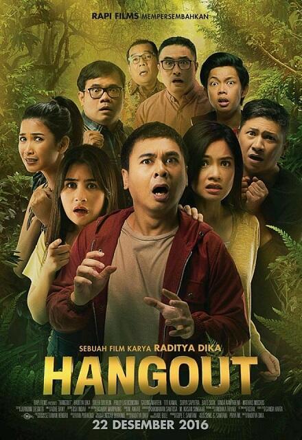 HANGOUT (2016) | Raditya Dika, Mathias Muchus, Surya Saputra, Titi Kamal