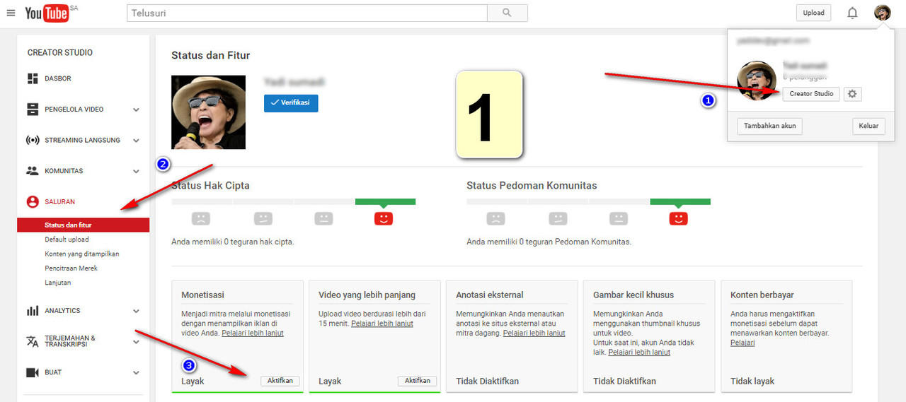 [YOUTUBE ADSENSE] All About Youtube Adsense Kaskus