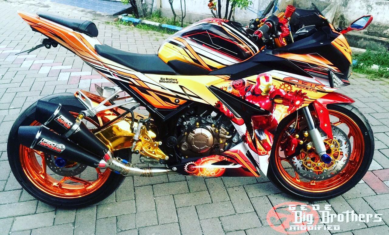 Terjual Velg Lebar Tapak Lebar CBR Cbu Thai CBR150 K45 PNP