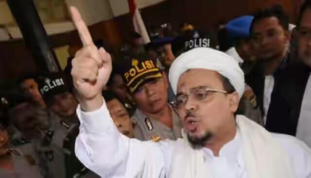 #Habib Rizieq: Tema Demo 212 Tegakkan Hukum pada Penista Agama dan Pelindungnya