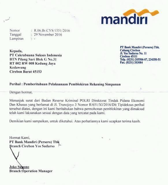 Sharing Investasi Pt Cakrabuana Sukses Indonesia Csi Page 21