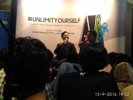 [Field Report] KASKUS The Lounge With SAMSUNG Galaxy A9 Pro Mantab Gan