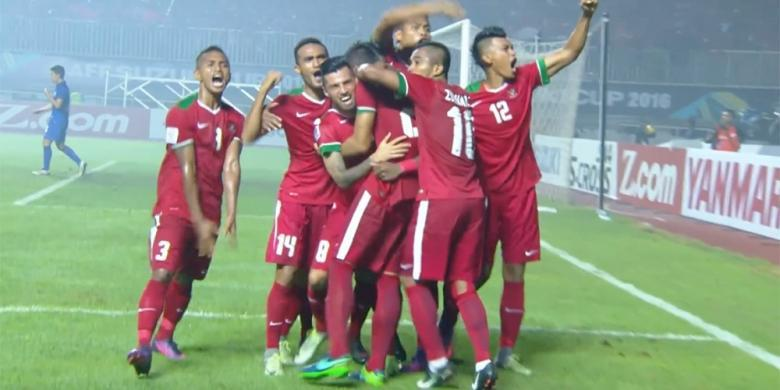 Indonesia Menang 2-1 atas Thailand