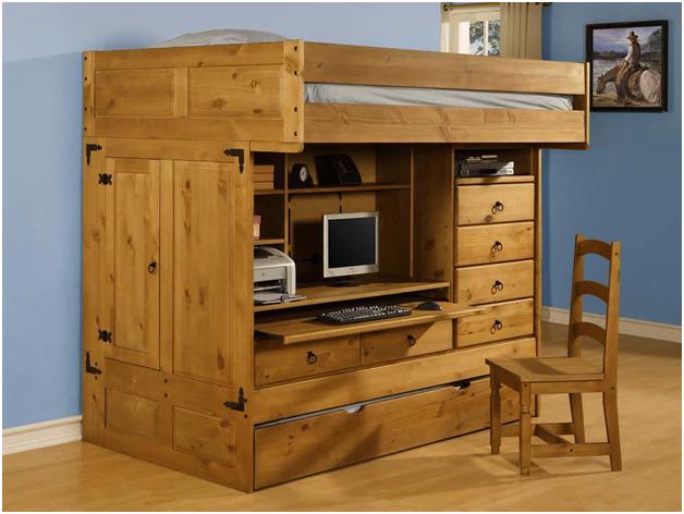 inspirasi desain kamar kost keren yang patut agan coba