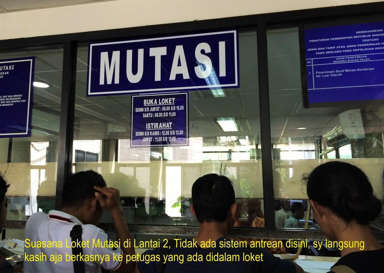 PENGALAMAN MUTASI DAN BALIK NAMA (BBN II) MOBIL DARI ...