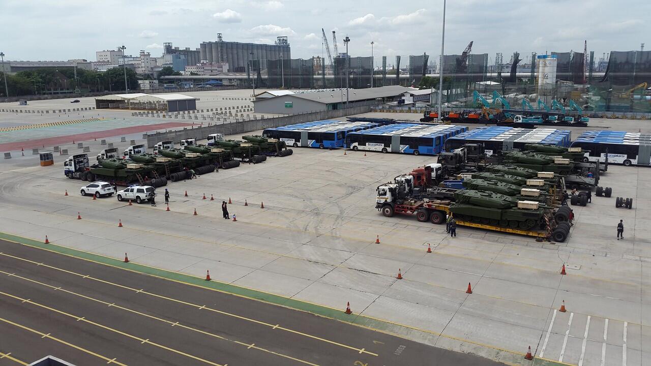 52 Tank Leopard Pesanan Indonesia Sudah Dikirim dari Jerman