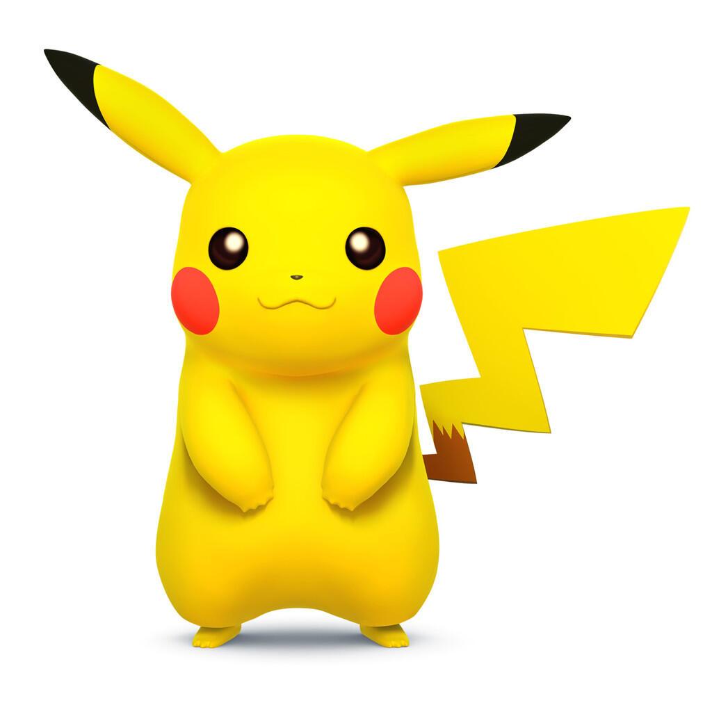 Aslinya Pikachu