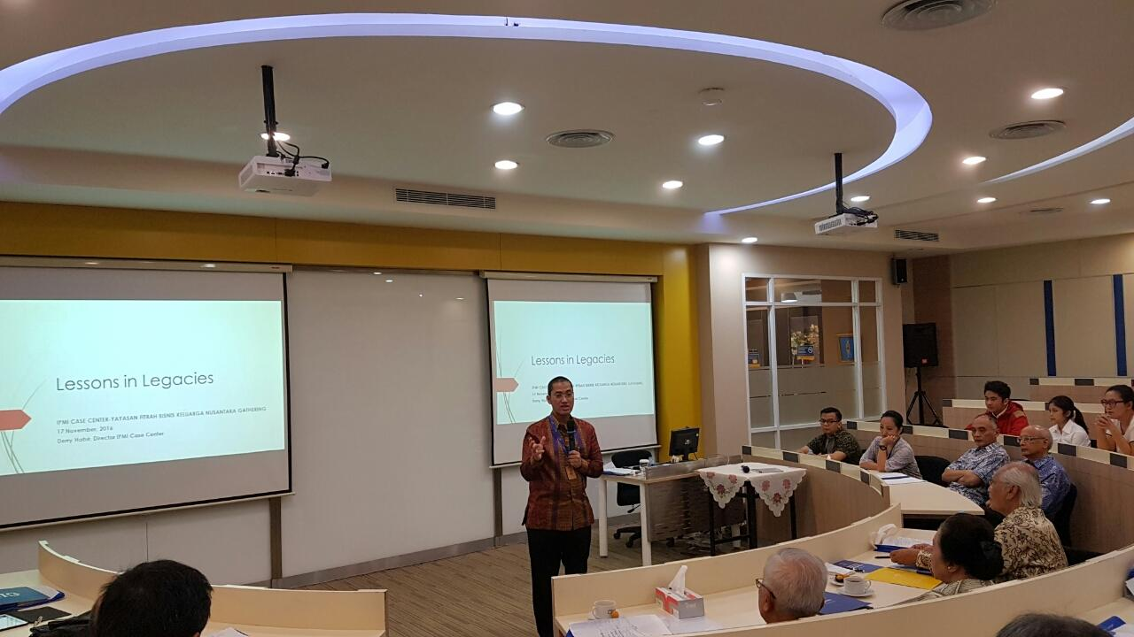 Event Family Business Daniprisma group 2016 di IPMI Business School