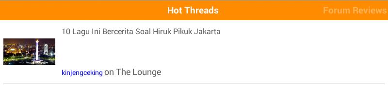 10 Lagu Yang Bercerita Hiruk Pikuk Jakarta