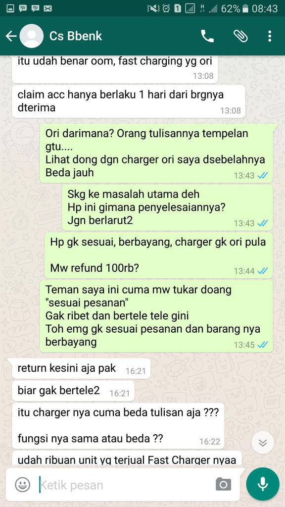 HATI HATI BELANJA DI BBENK PHONE SHOP BATAM