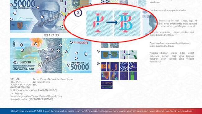 Metamorfosa Logo BI di Rupiah yang Dikira Palu Arit