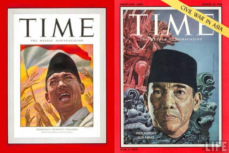Tokoh Indonesia ini tercatat pernah jadi cover majalah TIME