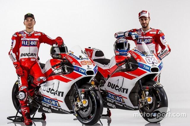 Ini Dia Motor Baru Ducati GP17 Milik Lorenzo & Dovizioso!