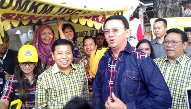 Kubu Ahok Bantah Didukung Presiden Jokowi dan Konglomerat