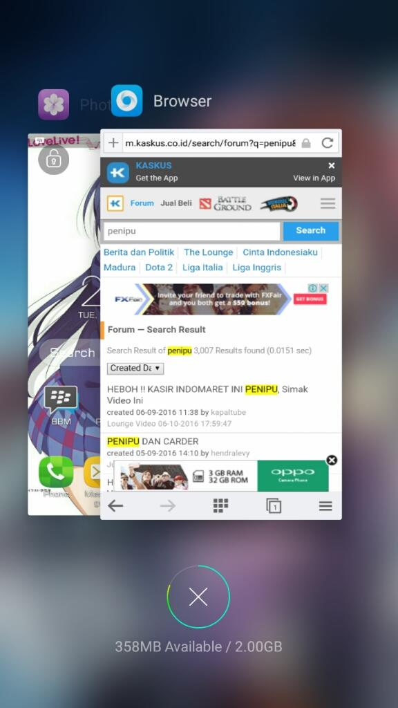 (Share) Browser Oppo
