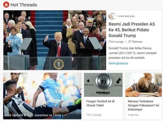Resmi Menjadi Presiden AS Ke 45, Berikut Pidato Donald Trump Setelah Disumpah