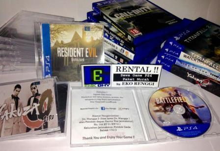 Sewa / Rental Game Original (BD) PS4 & XBOX ONE | Sepuasnya (Tanpa Batas Waktu)