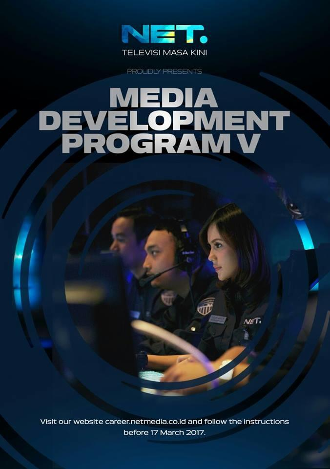 Media Development Program (MDP 5) PT Net Mediatama Televisi ( NET TV )
