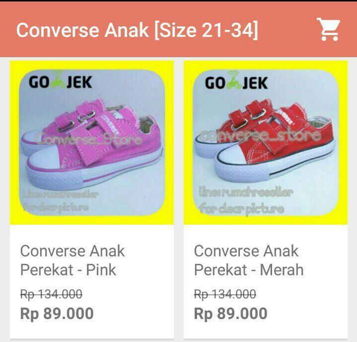 Lowongan Se-Indonesia  Dibutuhkan Freelance Untuk Marketing Sepatu  Sneakers Converse 325f2c25c2