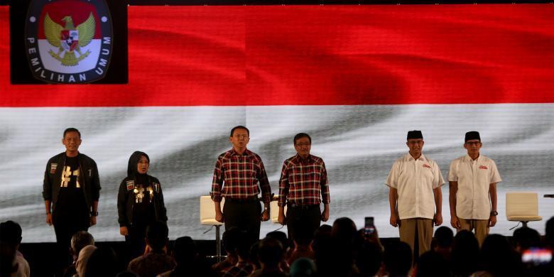 Tim Ahok-Djarot Beri Masukan soal Pendukung Saat Debat ke KPUD