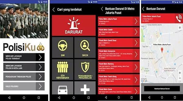 Profesional, Modern dan Terpercaya: Polri Luncurkan Aplikasi PolisiKu