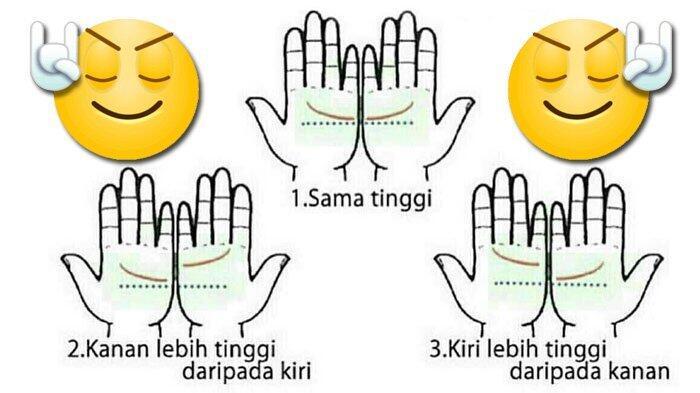 Coba Satukan Kedua Telapak Tanganmu, Lihat Posisi Garisnya, dan Ini Maknanya