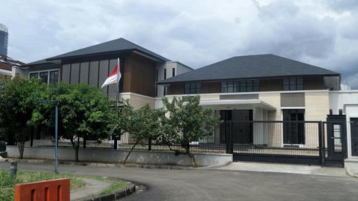 Sudah Ditempati, Rumah Baru SBY Mulai Dijaga Paspampres
