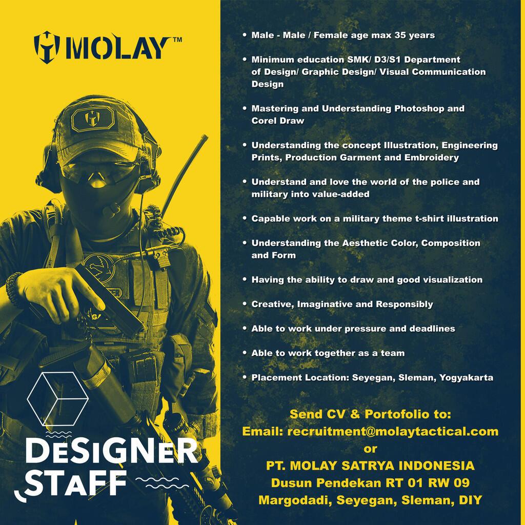 Lowongan Kerja PT. Molay Satrya Indonesia