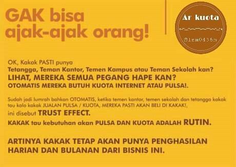 Ayo Join Jadi Agen Kuota!!
