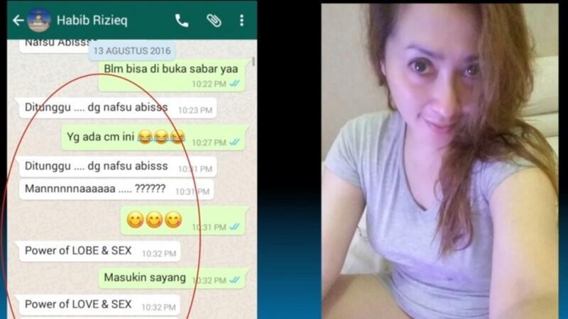 Tidak Terbantahkan, Chat Mesum Firza Husein dan Rizieq