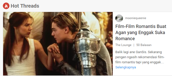 Film-Film Romantis Buat Kamu yang Enggak Suka Romance