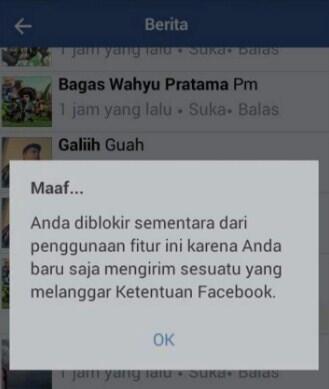 Mengatasi Tidak Bisa Posting dan Komentar di Grup Facebook