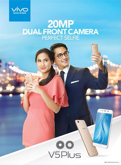 Membedah Spesifikasi Vivo V5Plus Yang Dibekali 20MP Dual Front Camera