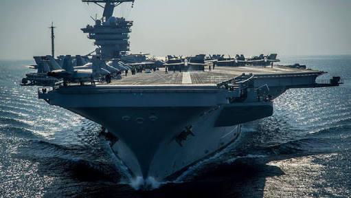 AS Kerahkan Kapal Induk USS Carl Vinson ke Laut China Selatan