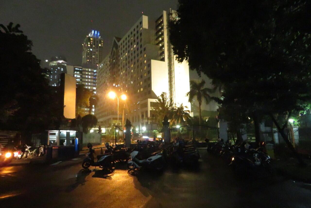 Jelang Aksi 212 di Gedung DPR, Masjid Al-Bina Senayan Sepi
