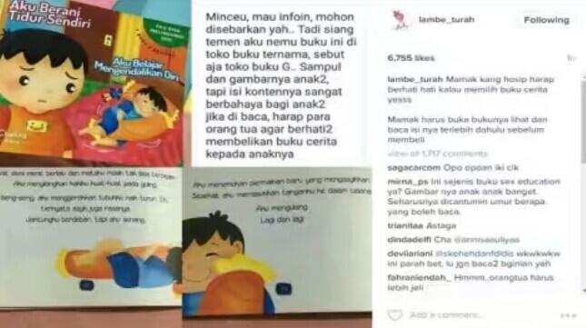 Heboh Buku Cerita Anak Berisi Konten Dewasa