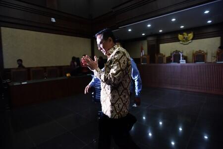 Hakim Cabut Hak Politik Irman Gusman
