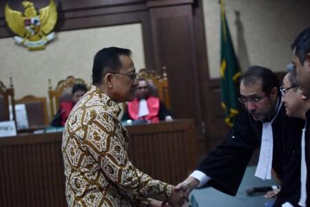 Irman Gusman: Vonis Hakim Tak Sesuai Prediksi