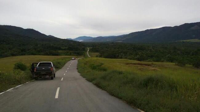 Jalan Trans Papua Sorong-Manokwari 594 Km Sudah Tersambung 100%