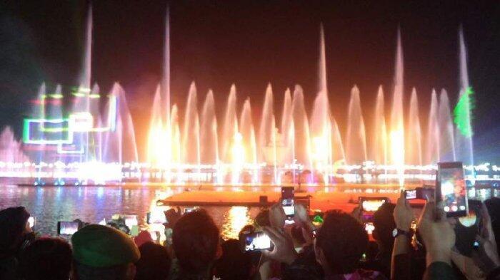 Proyek Air Mancur Sri Baduga Terilhami Etos Kerja Presiden Jokowi