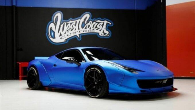 Justin Bieber Jual Ferrari Kesayangan di Balai Lelang
