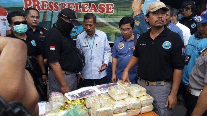 Petugas BNN Dalami Dugaan Pasokan Sabu dari Thailand