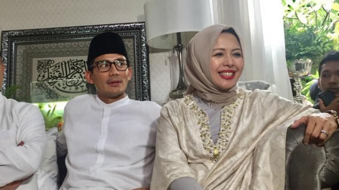 Reaksi Istri Soal Isu Sandiaga Uno Minta Dewi Perssik Buka Baju: 'Aduh, Gila Itu Mah'