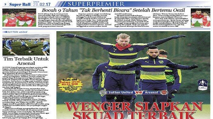 Arsene Wenger Siapkan Tim Senior Junior Hadapi Sutton United