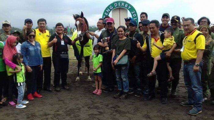 Djohar Manik Masih Tajir di Kejuaraan Pacuan Kuda Jateng Derby 2017
