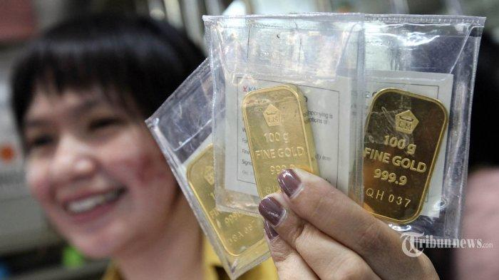 Pagi Ini Harga Emas Antam Naik Rp 1.000 Per Gram